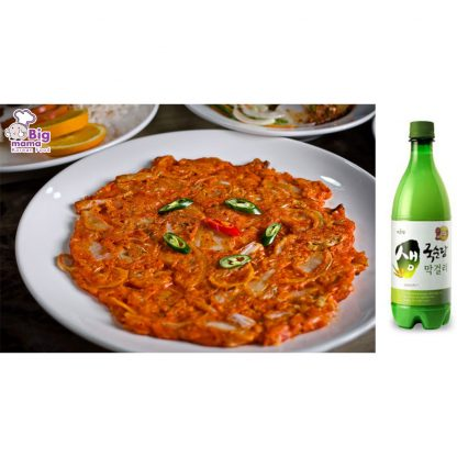 Kimchi Jeon Makgelli